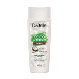 Shampoo DaBelle Hair Coco Poderoso 250 ml Cabelos Normais a Secos