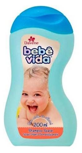 Shampoo Davene Bebê Vida 200 ml Suave