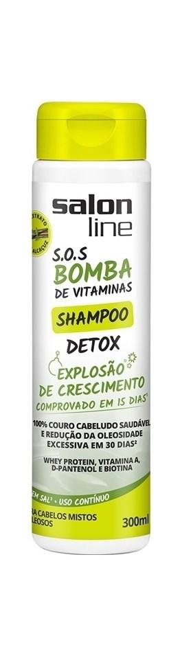 Shampoo Detox Salon Line S.O.S Bomba 300 ml Explosão de Crescimento