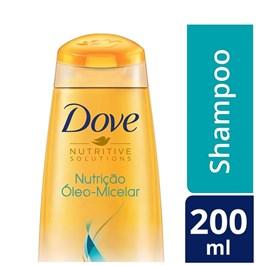 Shampoo Dove 200 ml  Nutrição Óleo Micelar