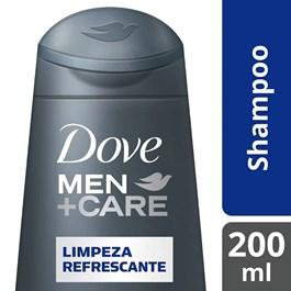 Shampoo Dove Men Care 200 ml Limpeza Refrescante