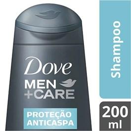 Shampoo Dove Men Care 200 ml Proteção Anticaspa