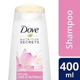 Shampoo Dove Nutritive Secrets 400 ml Ritual Liso & Nutrido