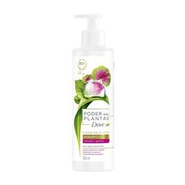 Shampoo Dove Poder das Plantas 300 ml Nutrição + Gerânio