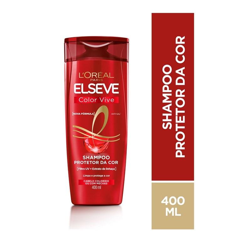 Shampoo Elseve Color-Vive 400 ml Tratamento