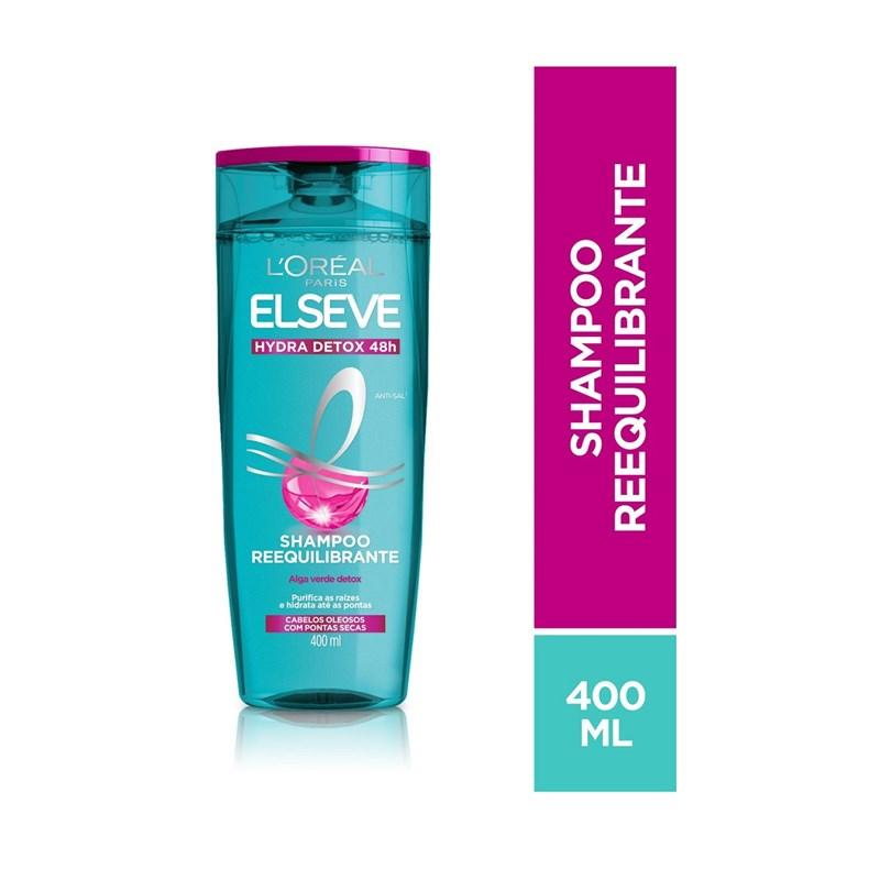 Shampoo Elseve Hydra Detox 400 ml