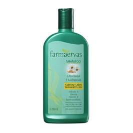 Shampoo Farmaervas 320 ml Camomila e Amêndoas