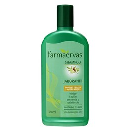 Shampoo Farmaervas 320 ml Jaborandi