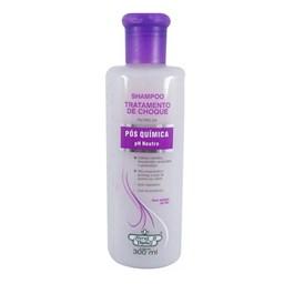 Shampoo Flores & Vegetais Tratamento de Choque 300 ml Pós Química