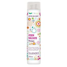 Shampoo Gllendex Jeito de Ser 300 ml #Sem Sulfato