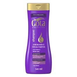 Shampoo Gota Dourada 340 ml Jaborandi e Ervas Fortes