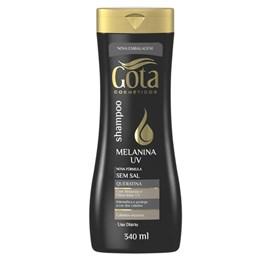 Shampoo Gota Dourada 340 ml Melanina UV