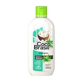 Shampoo Gota Dourada Coco Brasil 300 ml Coco e Babosa