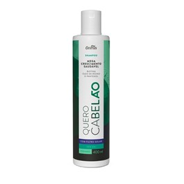 Shampoo Griffus Quero Cabelão 400 ml Vegano