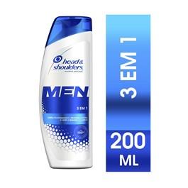 Shampoo Head & Shoulders Men 200 ml 3x1