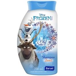 Shampoo Infantil Baruel Frozen 230 ml Olaf 2 em 1