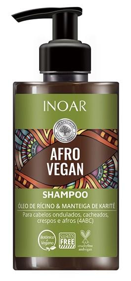 Shampoo Inoar Afro Vegan 300 ml