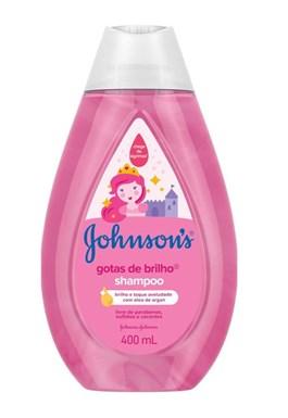 Shampoo Johnson's Baby 400 ml Gotas de Brilho