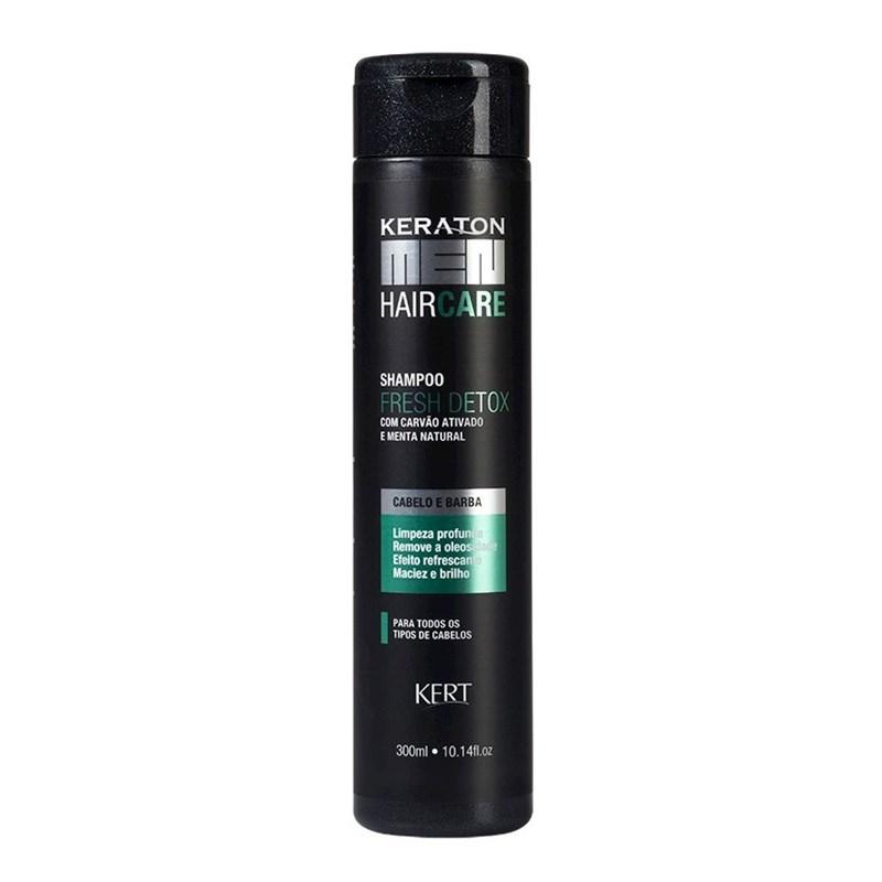 Shampoo Keraton Hair Care Men 300 ml Fresh Detox