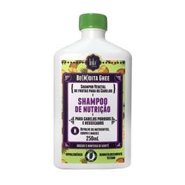 Shampoo Lola Bemdita Ghee 250 ml Nutrição