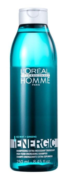 Shampoo L'oréal Professionel Homme 250 ml Energic