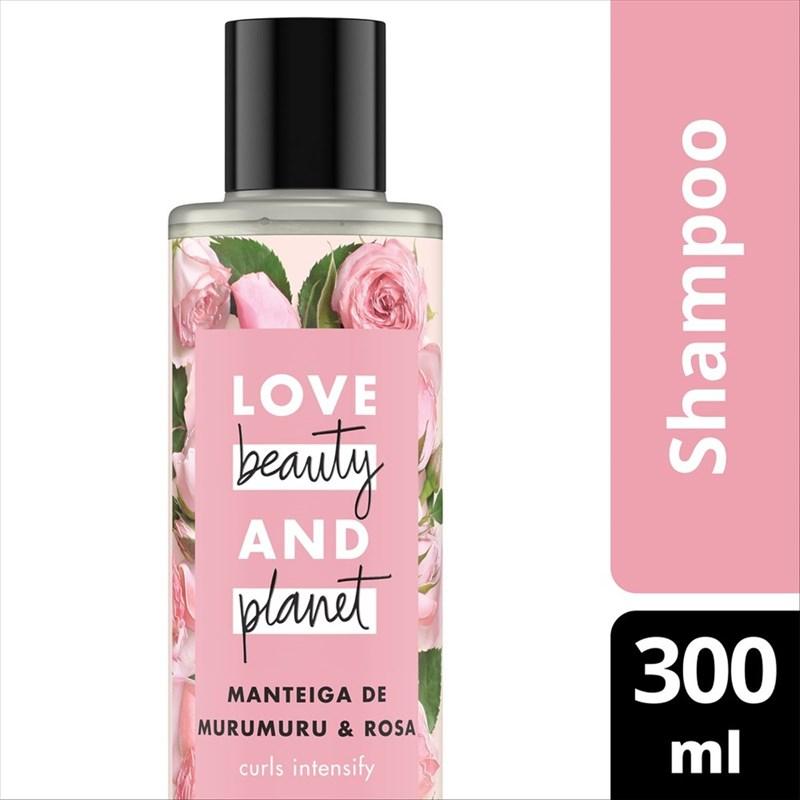 Shampoo Love Beauty And Planet 300 ml Manteiga de Murunuru & Rosas