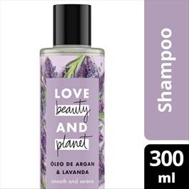 Shampoo Love Beauty And Planet 300 ml Óleo de Argan & Lavanda