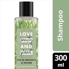 Shampoo Love Beauty And Planet 300 ml Óleo de Melaleuca & Vetiver