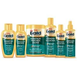 Shampoo Niely Gold 300 ml Cachos