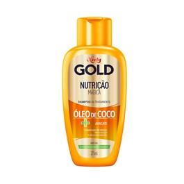 Shampoo Niely Gold 300 ml Nutrição Poderosa