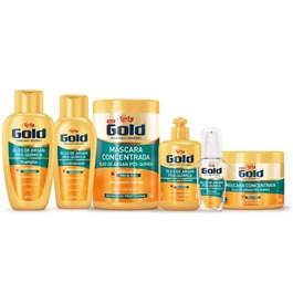Shampoo Niely Gold 300 ml Óleo de Argan Pós Química
