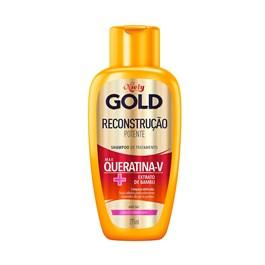Shampoo Niely Gold 300 ml Queratina Reparação