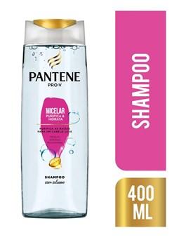 Shampoo Pantene Micelar 400 ml Purifica e Hidrata