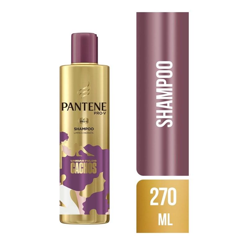 Shampoo Pantene Unidas Pelos Cachos 270 ml