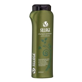 Shampoo Premium Sillage 300 ml Ervas e Silicone