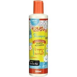 Shampoo Salon Line Kids #todecachinho 300 ml Limpeza Incrível!