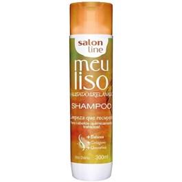 Shampoo Salon Line Meu Liso #Alisado&Relaxado 300 ml Limpeza que Recupera!