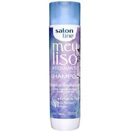 Shampoo Salon Line Meu Liso #Brilhante 300 ml Limpeza Iluminadora!