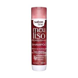 Shampoo Salon Line Meu Liso #Progressivado 300 ml Limpeza na Medida Certa
