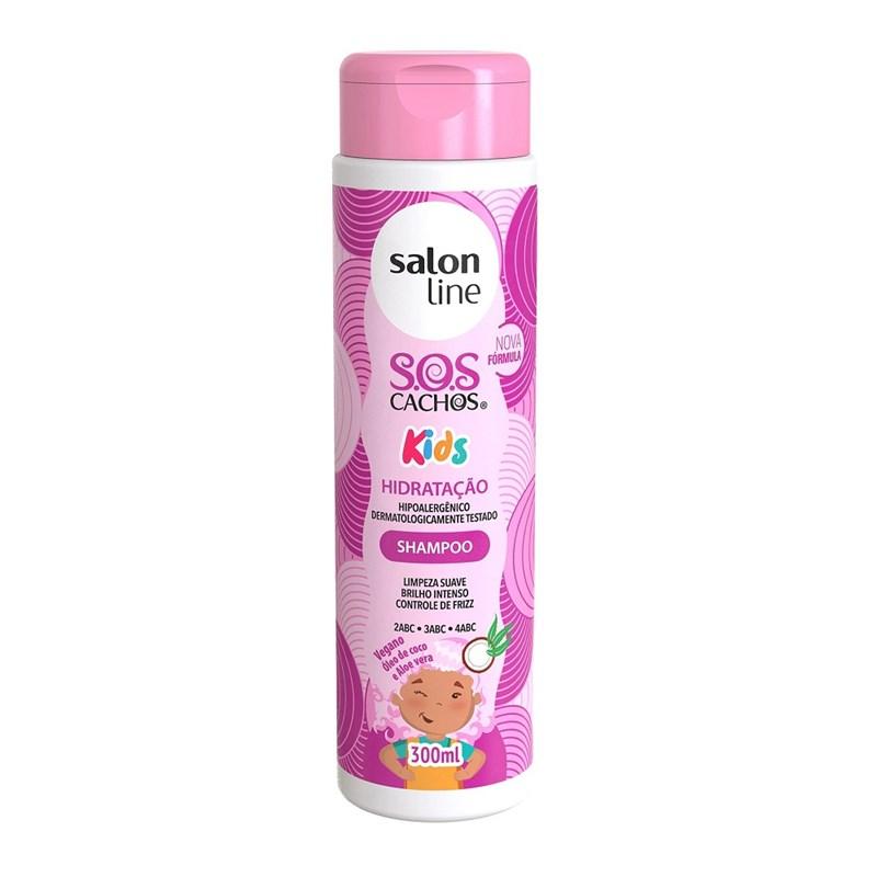 Shampoo Salon Line S.O.S Cachos Kids 300 ml Limpeza e Hidratação