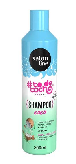 Shampoo Salon Line #todecacho 300 ml Coco