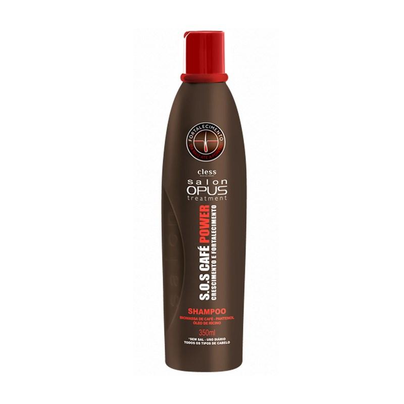 Shampoo Salon Opus 350 ml S.O.S Café Power