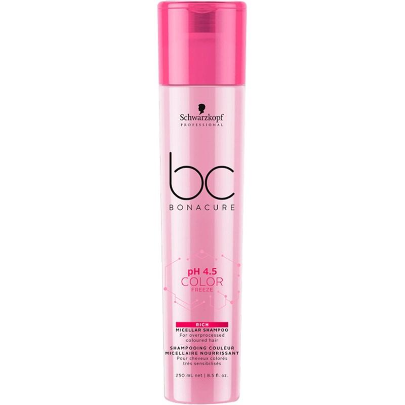 Shampoo Schwarzkopf Bonacure 250 ml Color Freeze Rich