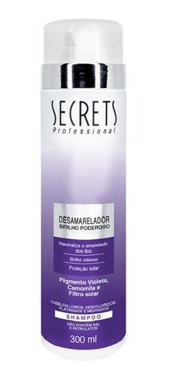 Shampoo Secrets 300 ml Desamarelador