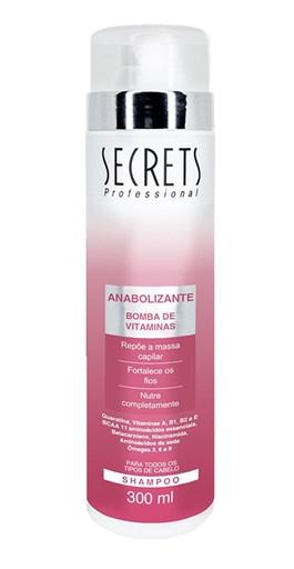 Shampoo Secrets Anabolizante 300 ml Bomba de Vitaminas