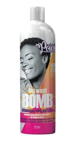 Shampoo Sem Sulfato Soul Power 315 ml Big Wash Bomb