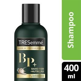 Shampoo Tresemmé 400 ml Baixo Poo + Nutrição