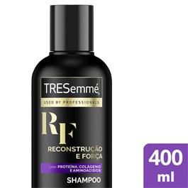 Shampoo Tresemmé 400 ml Reconstrução e Força