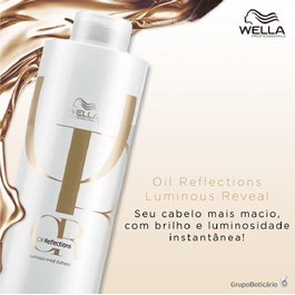 Shampoo Wella Professionals 1000 ml Oil Reflections