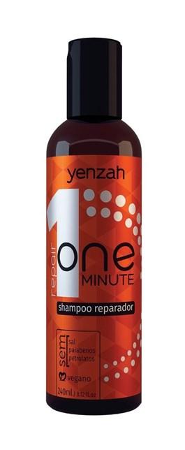 Shampoo Yenzah One Minute 240 ml Reparador
